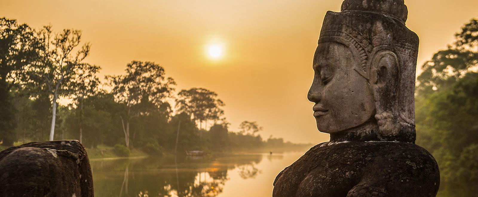 Explore Cambodian culture on a planned holiday just for over 50s.